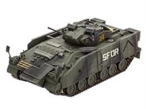 Slepovací model Revell 1:72 Warrior MCV with Add-on armour *