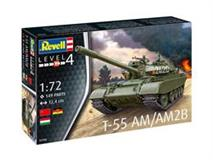 Slepovací model Revell 1:72 T-55AM / T-55AM2B *