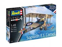 Slepovací model Revell 1:48 100 Years RAF: Sopwith Camel