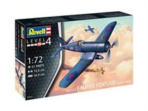 Revell slepovací model Vought F4U - 1B CORSAI Rroyal Navy 1:72