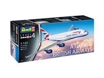 Slepovací model Revell 1:144 A380-800 British Airways