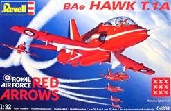 Revell slepovací model BAe Hawk T.1 Red Arrows 1:32