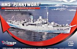 Slepovací model Mirage 1:350 - Pennywort Flower Class Corvette K 111 *