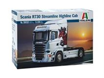 Slepovací model Italeri 1:24 Scania R730 Streamline Highline Cab