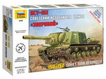 Zacvakávací model Zvezda 1:72 Self Propelled Gun ISU-152 *