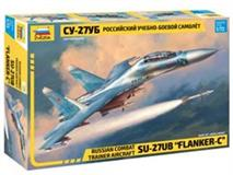"Slepovací model Zvezda 1:72 Russian combat trainer aircraft SU- 27UB "" Flanker- C"""