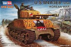 "Hobby Boss slepovací model U.S  M4A3E8 Tank ""KOREAN WAR"" 1:48"
