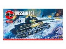 Slepovací model Airfix 1:76 Russian T34