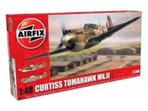 Slepovací model Airfix 1:48 Curtiss Tomahawk MK.II