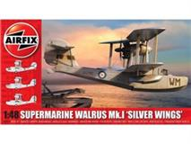 Slepovací model Airfix 1:48 Supermarine Walrus Mk.1 'Silver Wings'