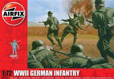 Airfix slepovací model WWII German Infantry 1:72
