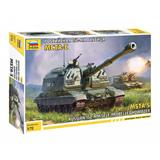 Zvezda slepovací model MSTA -S Russian 152- MM self - propelles howitzer 1:72