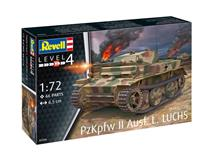 Revell slepovací model PzKpfw II Ausf. L. LUCHS 1:72