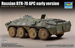 Trumpeter slepovací model Russian BTR - 70 APC early version 1:72