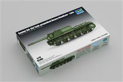 Trumpeter slepovací model Soviet SU - 152 Self propelled Heavy Howitzer - Late 1:72
