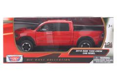 Model auta 2019 Ram 1500 crew cab rebel