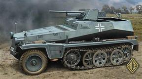 ACE slepovaci model Sd. Kfz.250/10 1:72