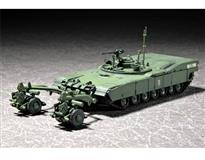 Trumpeter slepovací model M1 Panther II Mine Clearing Tank 1:72