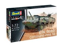 Revell slepovací model GTK Boxer Command Post NL 1:72