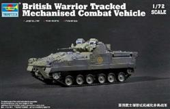 Slepovací model Trumpeter 1:72 British Warrior Tracked Mechanised Combat Vehicle