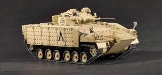Slepovací model Trumpeter 1:72 British Warior Tracked Mechanised Combat Vehicle