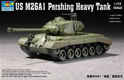 Slepovací model Trumpeter 1:72 US M26A1 Pershing Heavy Tank